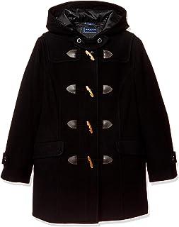 Olive Deo Olive School 带拉链粗呢大衣 JC752 女士