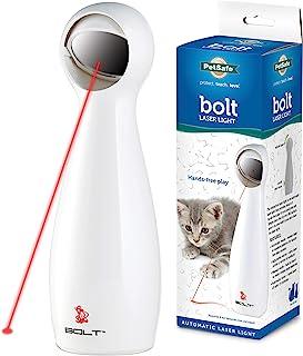 PetSafe FroliCat 猫咪玩具,自动互动激光灯玩具 白色