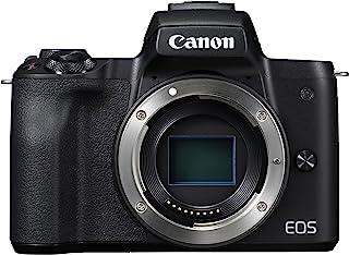 Canon佳能 EOS M50 白色2680C002  外壳 黑色