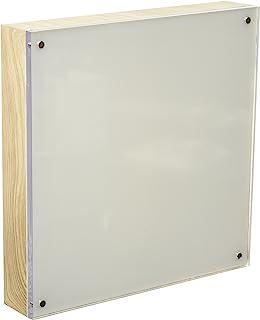 American Crafts R Memory Keepers 照片灯 20.32 x 20.32 厘米丙烯酸天然木框