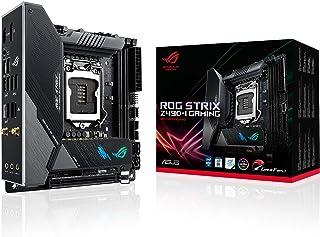 ASUS 华硕 ROG Strix Z490-I Gaming Z490 ( WiFi 6 ) LGA 1200 ( Intel * 10 代 ) Mini-ITX 游戏主板 8+2 电源阶段,DDR4 4800,Intel 2.5 Gb 以太...
