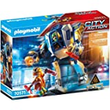 PLAYMOBIL City Action 70571 警察机器人:特殊插件,适合 4 - 10 岁儿童
