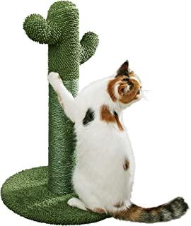 PetnPurr 猫猫抓柱 带茶圈: 仙人掌猫抓板 您的猫咪永远想要的猫抓板