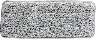 Iris Ohyama 地板拖把 白色 宽约26×深约10×高约1厘米 平板拖把用替换拖把 FLMO-K1P