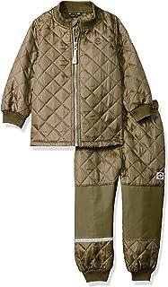 MIKK Line 儿童&婴儿上衣和裤子保暖套装,防水防风