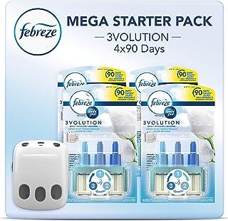 Febreze 3volution Cotton Fresh Plug in + 4 Refill air freshener