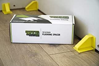层压乙烯基板和硬木地板地板垫片   非常适合专业和 DIY 浮动地板安装   Brulie 地板垫片是您地板安装套件的完美补充