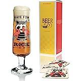 RITZENHOFF 啤*杯Kathrin Stockebrand,由水晶玻璃制成,300毫升,带5个啤*盖