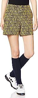 Mastervani 女士 短裤 MBE 印花 流苏 尼龙 弹力斜纹布(防水)/759-0232706