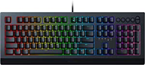 Razer 雷蛇 Cynosa V2 游戏键盘:可定制Chroma RGB 照明 - 独立背光键 - 防溢设计 - 可编程宏功能 - *媒体键