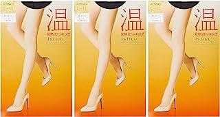 ATSUGI 连裤袜 ASTIGU [温] 发热连裤袜 3双装 女士 FP6003