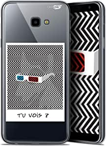三星 Galaxy J4 Plus J4+ (6) HD 凝胶软 - 防震 - 法国印花CRYSPRNTJ4PLUSCANYOUSEE  Soft Cover Samsung Galaxy J4 Plus J4+ Tu Vois ce que Je Vois ?