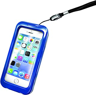 Celly 防水手机壳适用于 iPhone 4/4S 5/5SWPCIPH02 蓝色