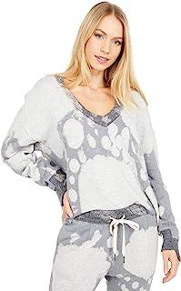 n:PHILANTHROPY 女式 Aries 休闲 V 领长袖套头运动衫