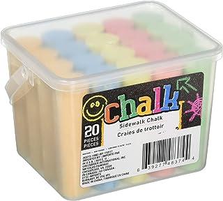 Chalk Jumbo Sidewalk 粉笔 20 支 - 5 种颜色