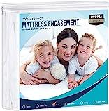 utopia 床上用品水和床 bug proof 床垫 encasement
