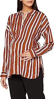Esprit 孕妇女式衬衫 LS AOP 长袖孕妇上衣