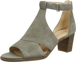 Clarks 女士 Kaylin60 Glad 系带高跟鞋