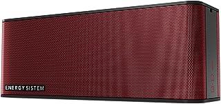 Energy Sistem 音乐盒 5+(无线便携式音箱带蓝牙 4.1,10W,免提,音频输入和可充电电池)红色