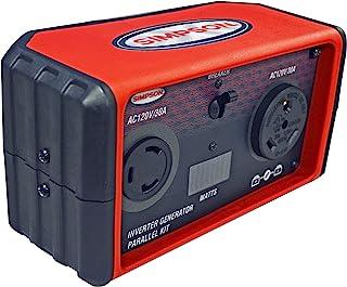 Simpson 清洁 SIG22PK Powershot 数码平行盒,红色