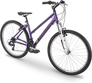 Royce Union 27.5 英寸(约69.85 厘米) RMT 女式 21 速全地形山地自行车,15 英寸(约 38.1 厘米) 铝制框架,旋转移位