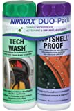 Nikwax Softshell Clean/Waterproof DUO-Pack 2 x 300ml