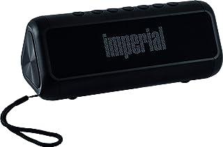 Imperial BAS 6 太阳能蓝牙4.1 立体声扬声器(2 X 8瓦,microSD,USB,Aux,2.500mAh)黑色