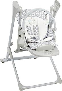 Primo 2 合 1 智能旅行者可转换婴儿秋千和高脚椅,带蓝牙,灰色