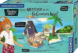 KOSMOS 606084 胡椒和秘密岛上的冒险,探索太阳能量,实验室到太阳,8至11岁以上儿童的实验盒