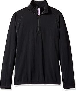 HPE 男式 Cross X 无缝 1/4 拉链上衣