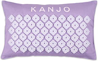 Kanjo 优质香氛薰衣草穴位枕 - * 棉麻 - 荞麦和薰衣草填充 - 缓解背部*和颈部*