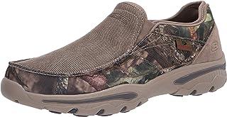 Skechers Creston-Moseco 男士一脚蹬帆布乐福鞋