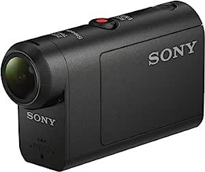 Sony 索尼 HDR-AS50 运动相机,配有60米防水外壳,3倍变焦,SteadyShot 和 Wi-Fi + Ultra Compact 数码摄像机套,黑色