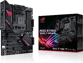 ASUS 华硕 ROG Strix B550-F 游戏主板插槽 AM4(ATX,Ryzen PCIe 4.0,Intel 2.5 Gb/秒以太网,2 个带冷却器,SATA 6Gb/秒,USB 3.2 Gen 2,Aura Sync)