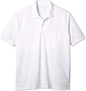 Catch 男士短袖Polo衫 白色 素色 制服 学生 学校 LB476072