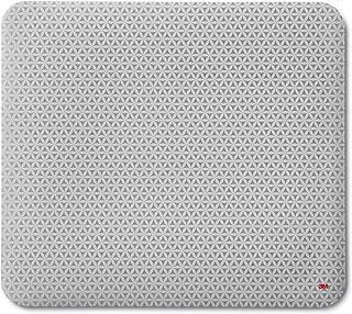 3M 精确鼠标垫,快速提高了光学鼠标的精度,并将无线鼠标的电池寿命延长了50%,9英寸 x 8英寸(约22.86厘米 x 20.32厘米),MP114-BSD1