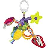 Lamaze 拉玛泽 拉拉游戏结带响纸摇铃 安抚牙胶 婴幼儿启蒙益智玩具