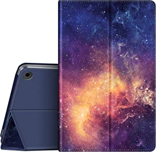 Fintie Case 适用于 VANKYO MatrixPad S21 10 英寸平板电脑 - [弹性支架] 高级人造皮革多角度对开智能支架盖,适用于 MatrixPad S21 10.1 英寸 Android 平板电脑(银河系)