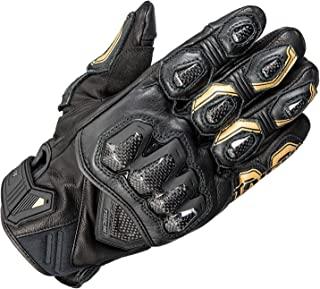 RS TAICHI 高防护 皮革手套 黑色/金色 尺寸:XXL RST422