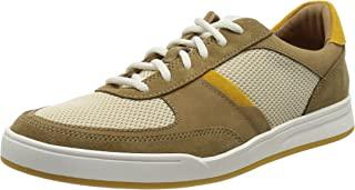 Clarks 男士 Bizby 系带运动鞋