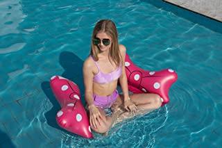 泳池浮标成人尺寸,多功能水吊床休息室,可充气泳池浮吊床泳池玩具配件,适用于游泳池、湖泊、户外、海滩的水椅