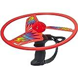 Discovery Toys 天空旋转飞行飞机圆盘发射器 | 2 个大翼儿童动力学习 | STEM 玩具幼儿开发 6 岁…