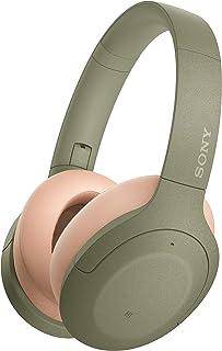 Sony 索尼 WH-H910N 无线高分辨率耳机(降噪,蓝牙,快速连接模式,电池续航时间长达 40 小时,耳机带麦克风用于电话和个人电脑 ) *