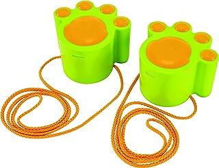 Hape 沙和太阳猫行走静音海滩玩具黄色 Cat Walk 沙滩玩具 浅绿色