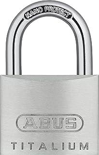 ABUS 55875 钛合金挂锁 带 KA6414 类似钥匙