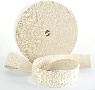 Trimz 10mtr 卷 25mm Ecru 棉织带,10m x