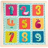 B. toys 磁铁式数字拼图 带黑板 BX1848GZ