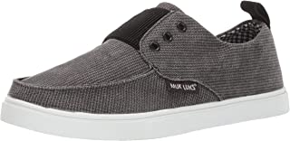 MUK LUKS 男士 Billie 帆布鞋 乌木运动鞋