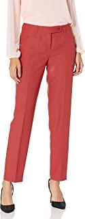 Anne Klein 安妮克莱恩 女士斜纹修身长裤