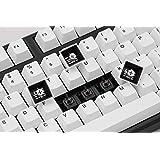 Mistel Doubleshot PBT 键帽适用于机械键盘,带 Cherry MX 开关和克隆,OEM Profil…